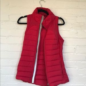 Hot pink Lululemon vest